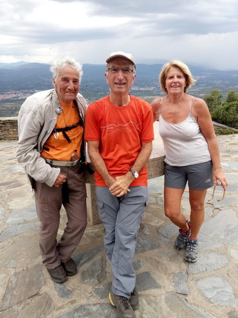 Dominique, Michel et Michelle à l'ermitage Força Réal